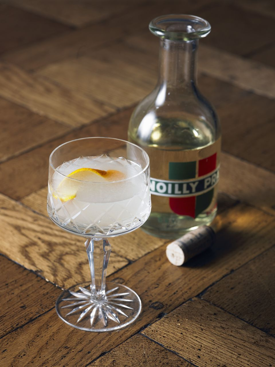 Vermouth and vodka cocktail