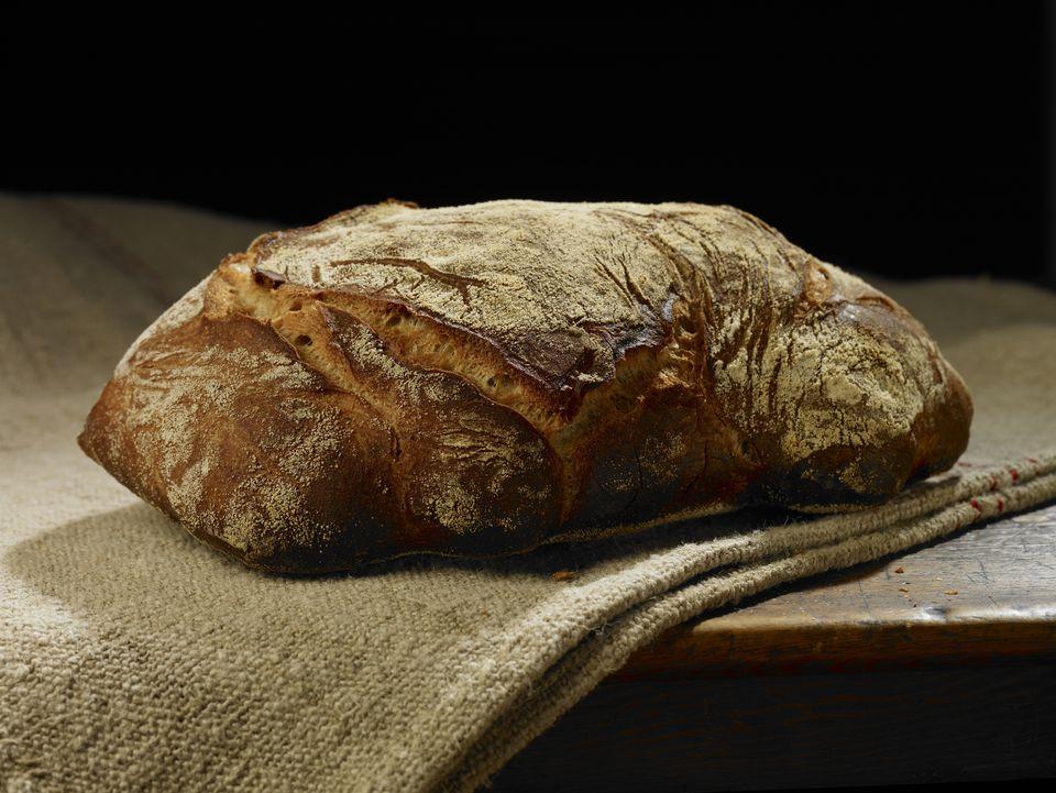 Landbrot - Pan de masa fermentada de trigo