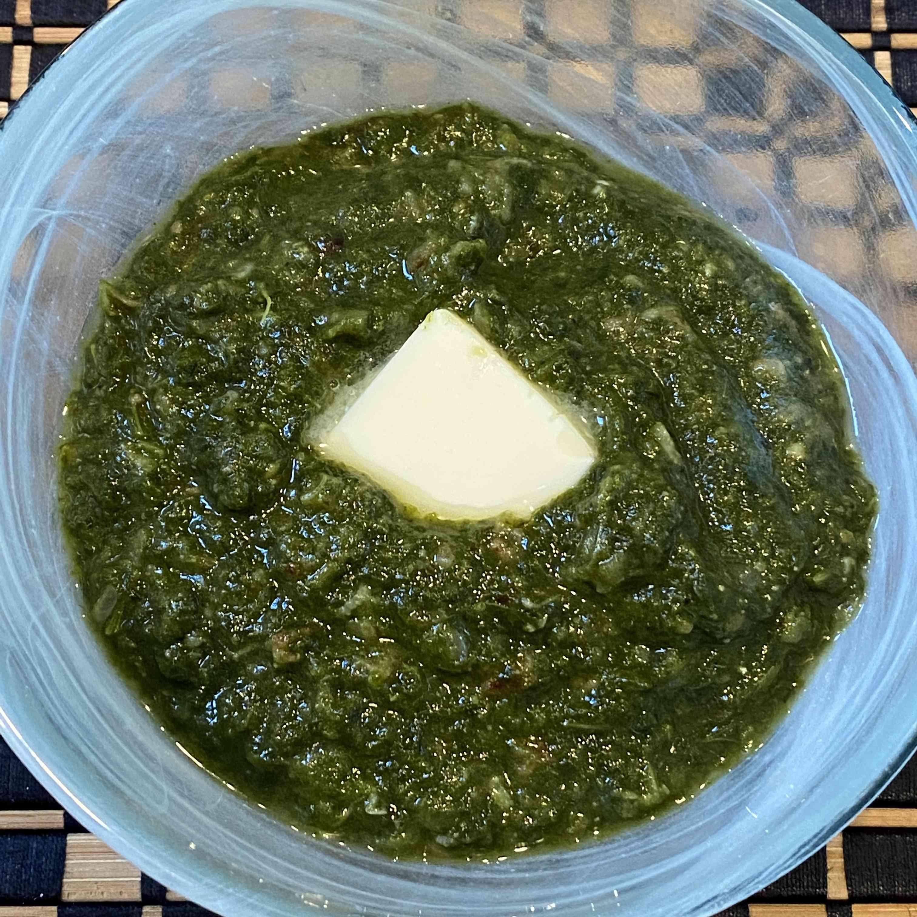 Punjabi Sarson Ka Saag (Greens and Spices) Recipe Test