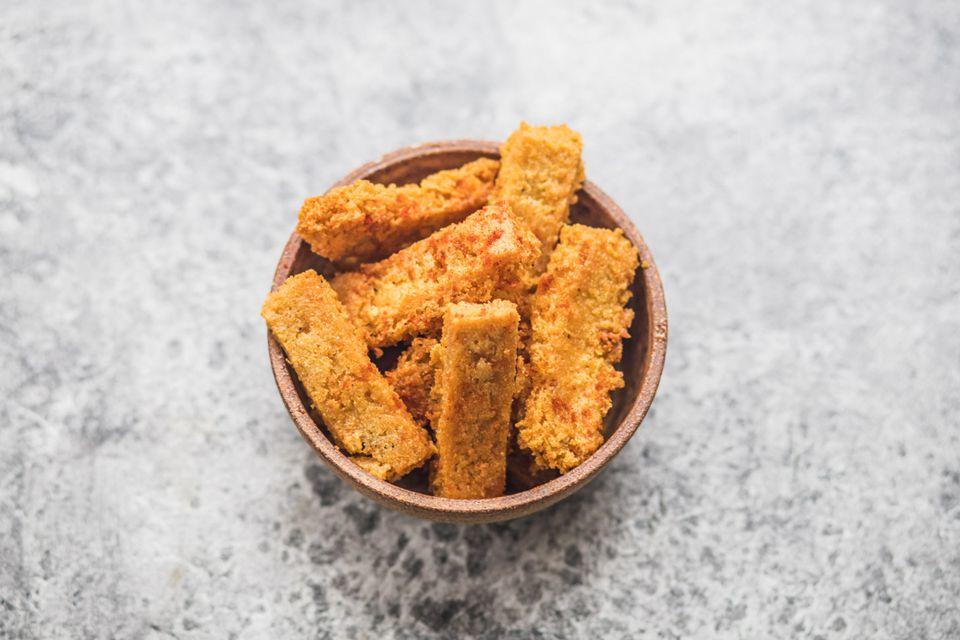 Chickpea fries recipe