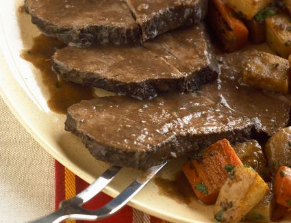how to cook sirloin tip roast in slow cooker
