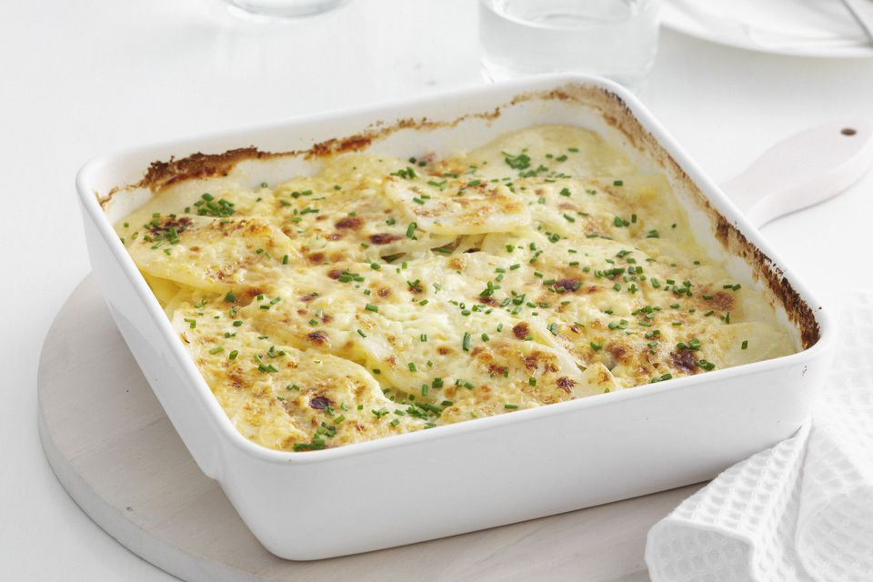 Potato Casserole With Chives