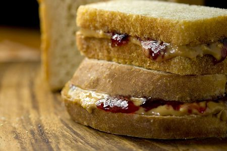 Gourmet peanut butter and jelly sandwich recipe ccuart Images