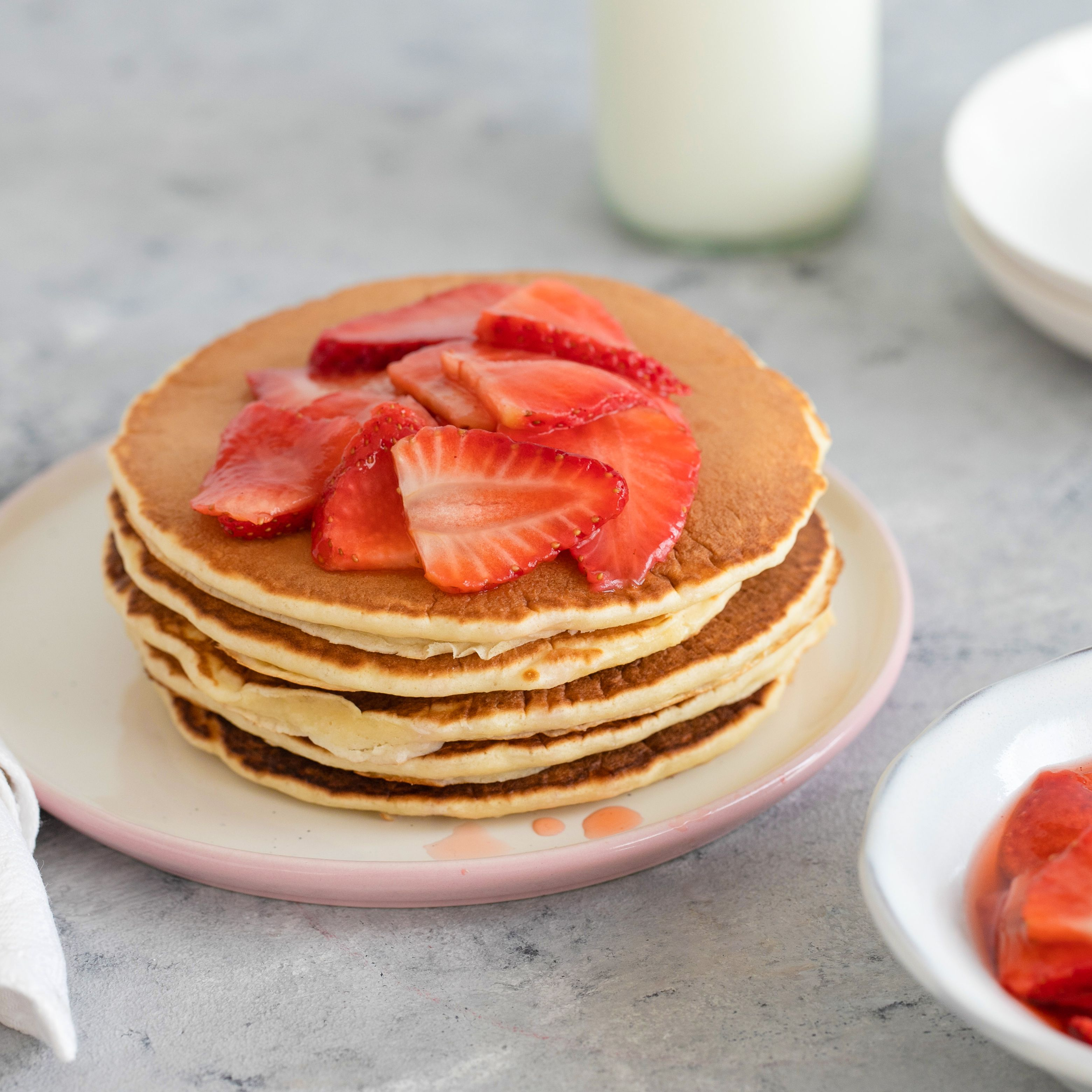 Strawberry Pancakes Pictures