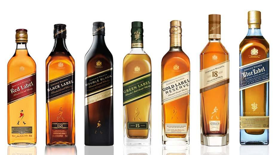 Johnnie Walker Whisky Collection