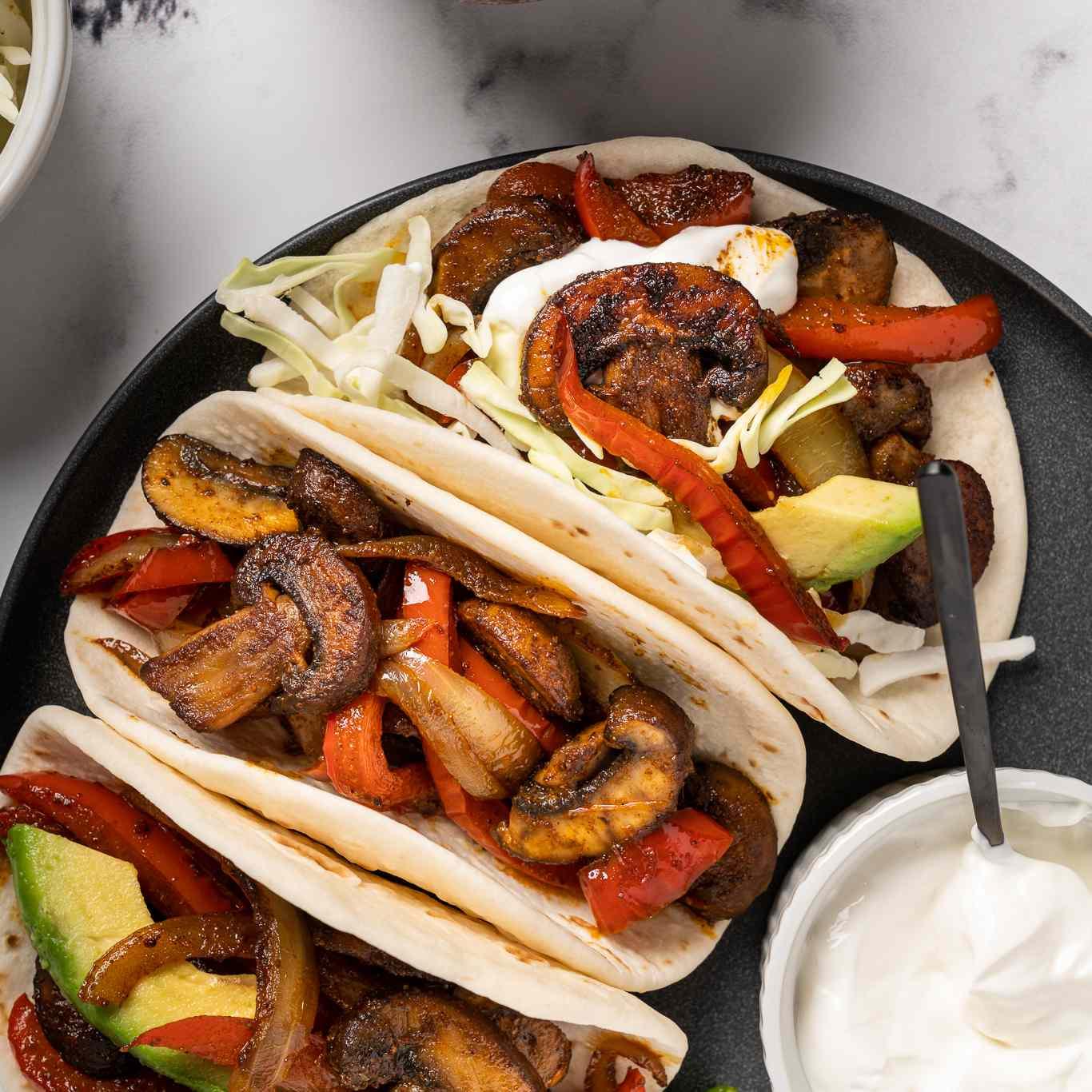 Vegetarian Mushroom Tacos