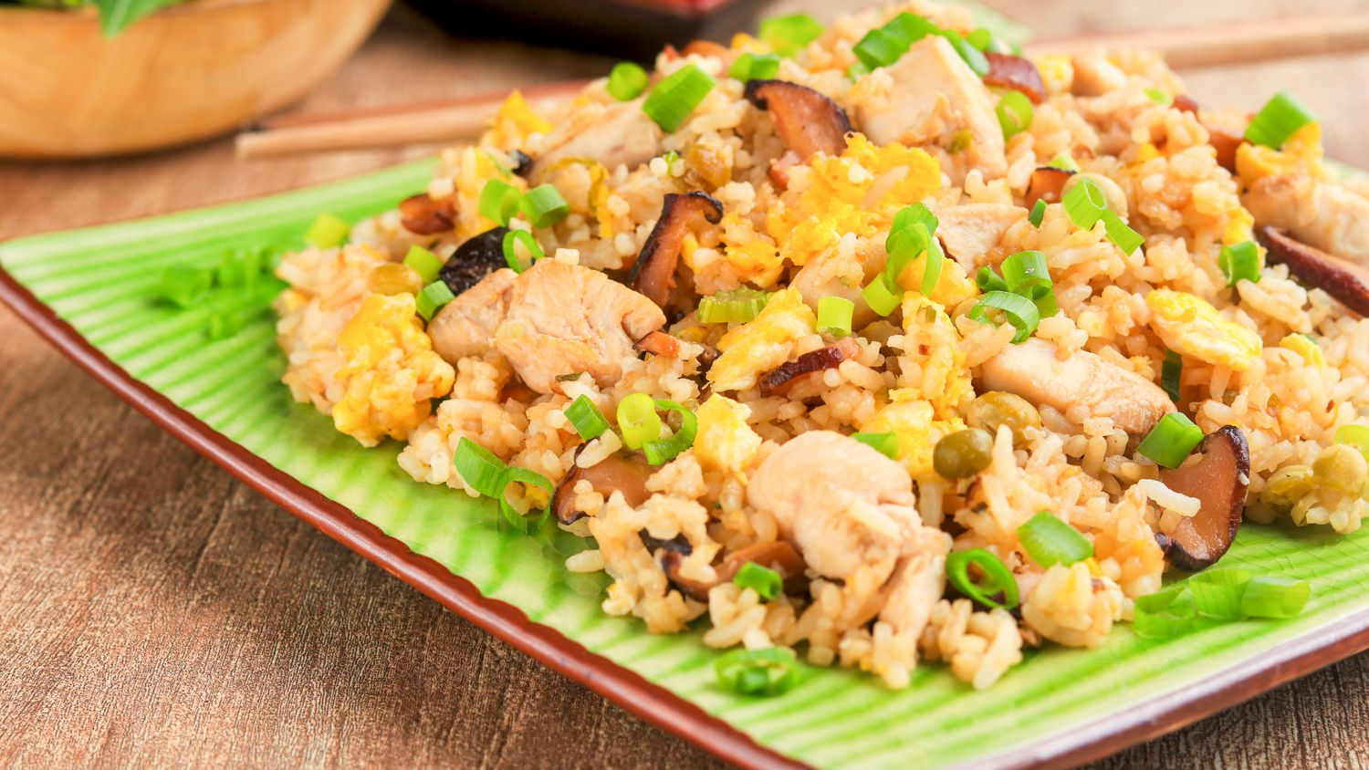 Thai Chicken Fried Rice Recipe