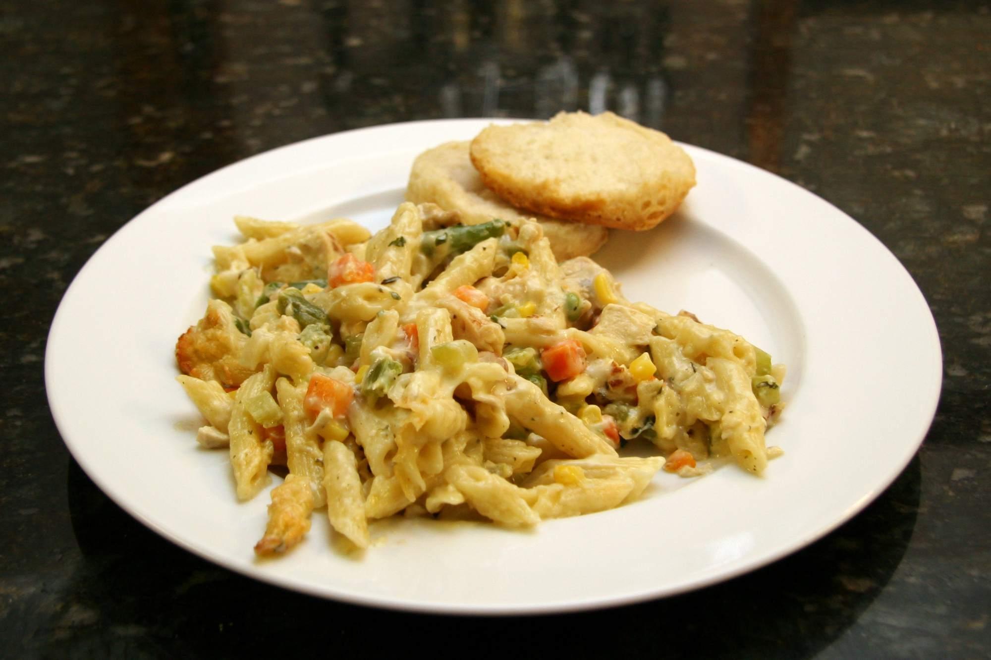 Chicken and Penne Casserole
