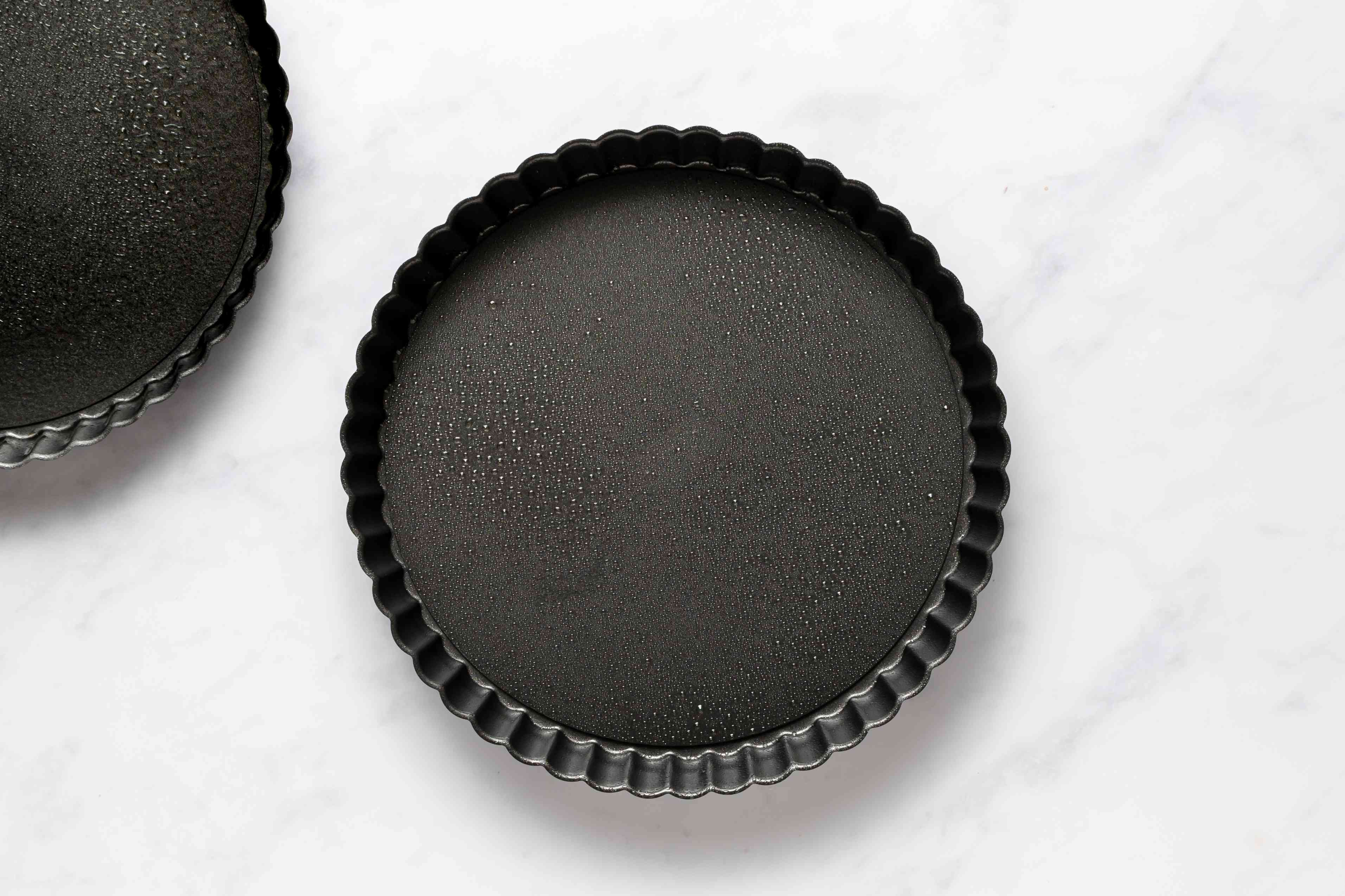 greased tart pans