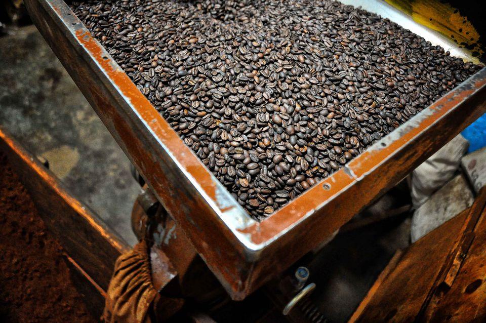 Harar coffee beans