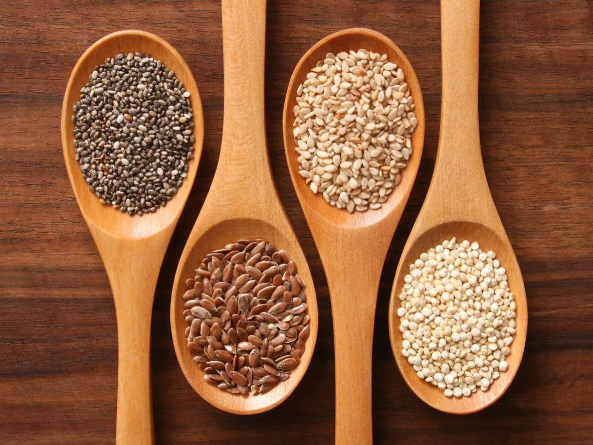 A variety of grains