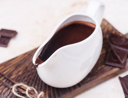 Perfect chocolate sauce