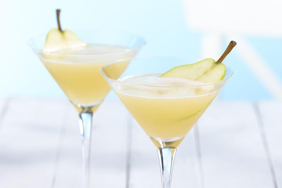 Pear Martinis