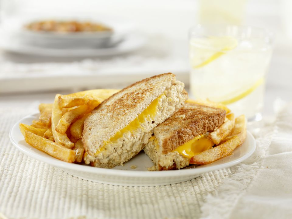 Grilled Tuna and Cheese Sandwich
