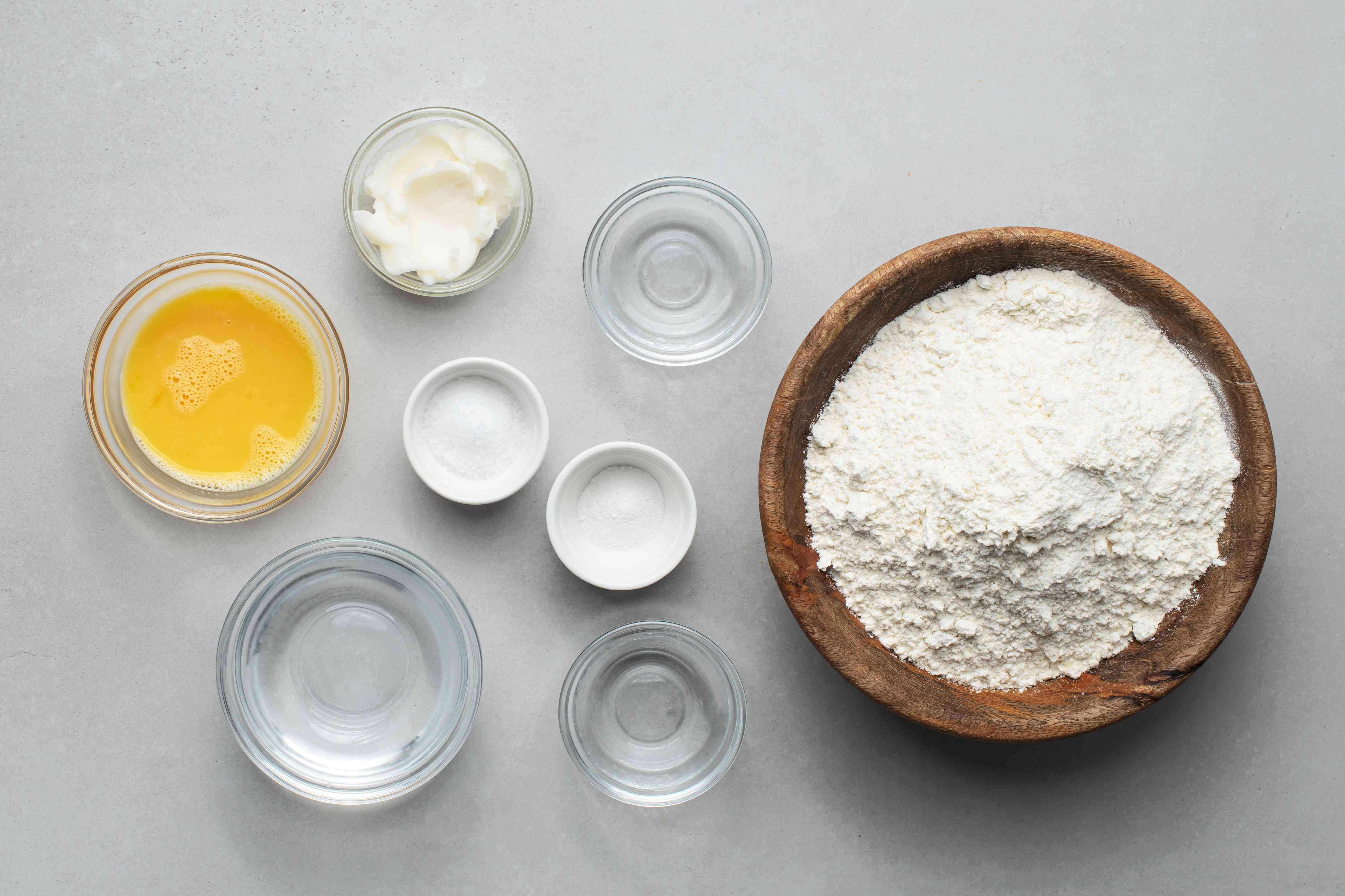 Pastry dough ingredients