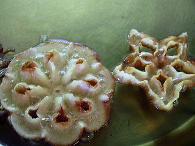 rosettes in oil
