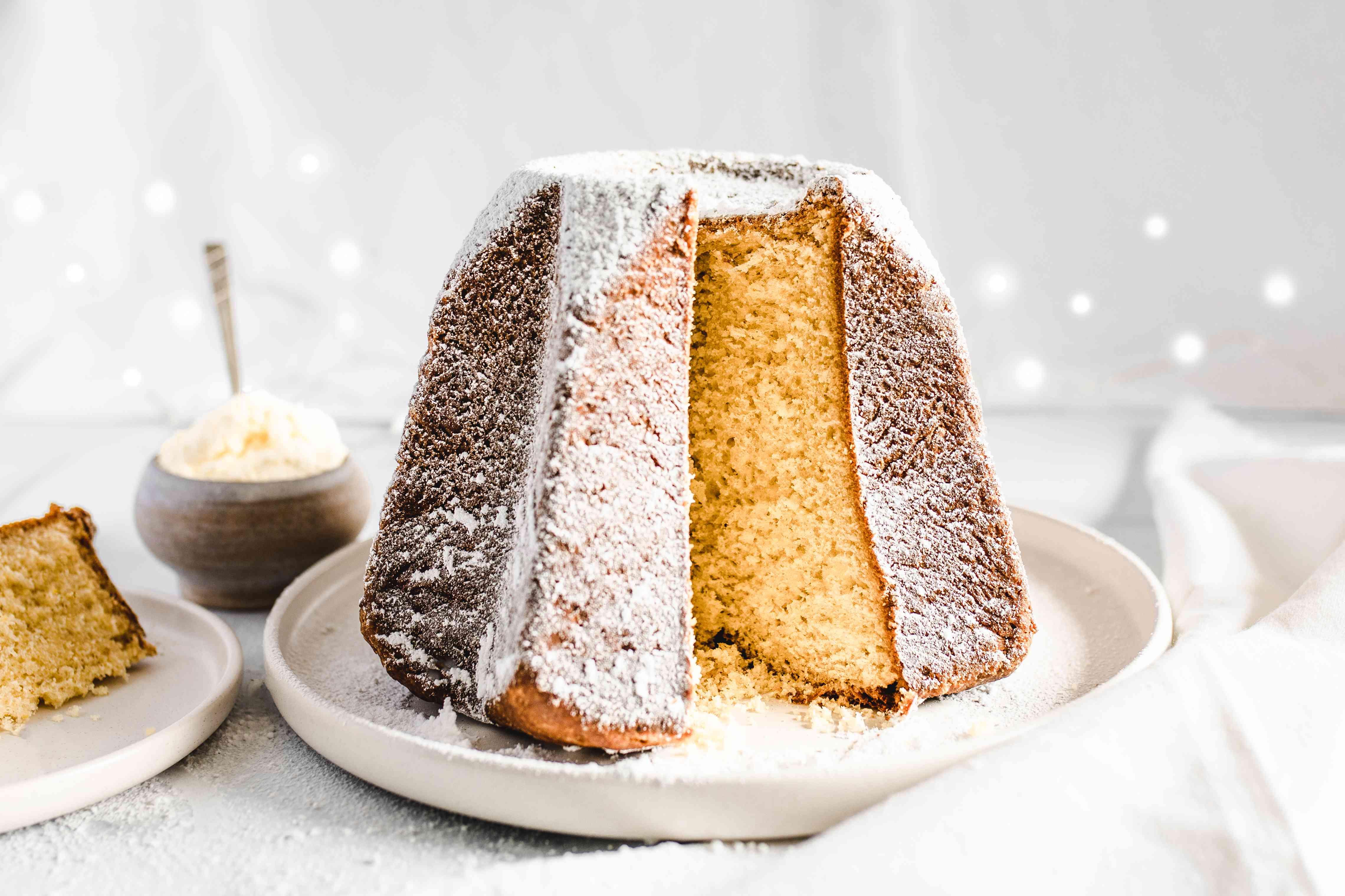 Pandoro classic Christmas cake verona recipe