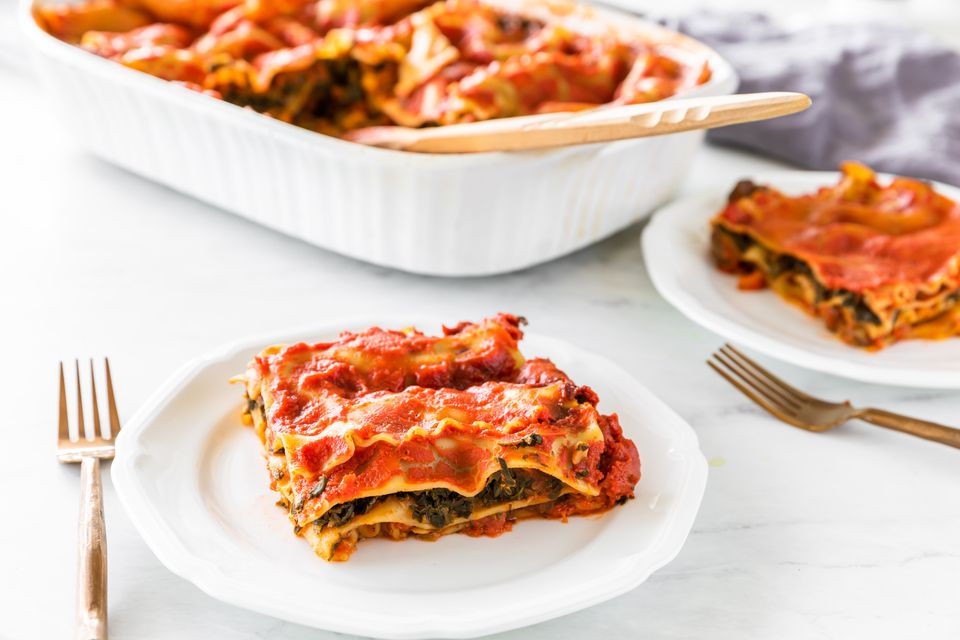 Low fat vegan eggplant lasagna recipe