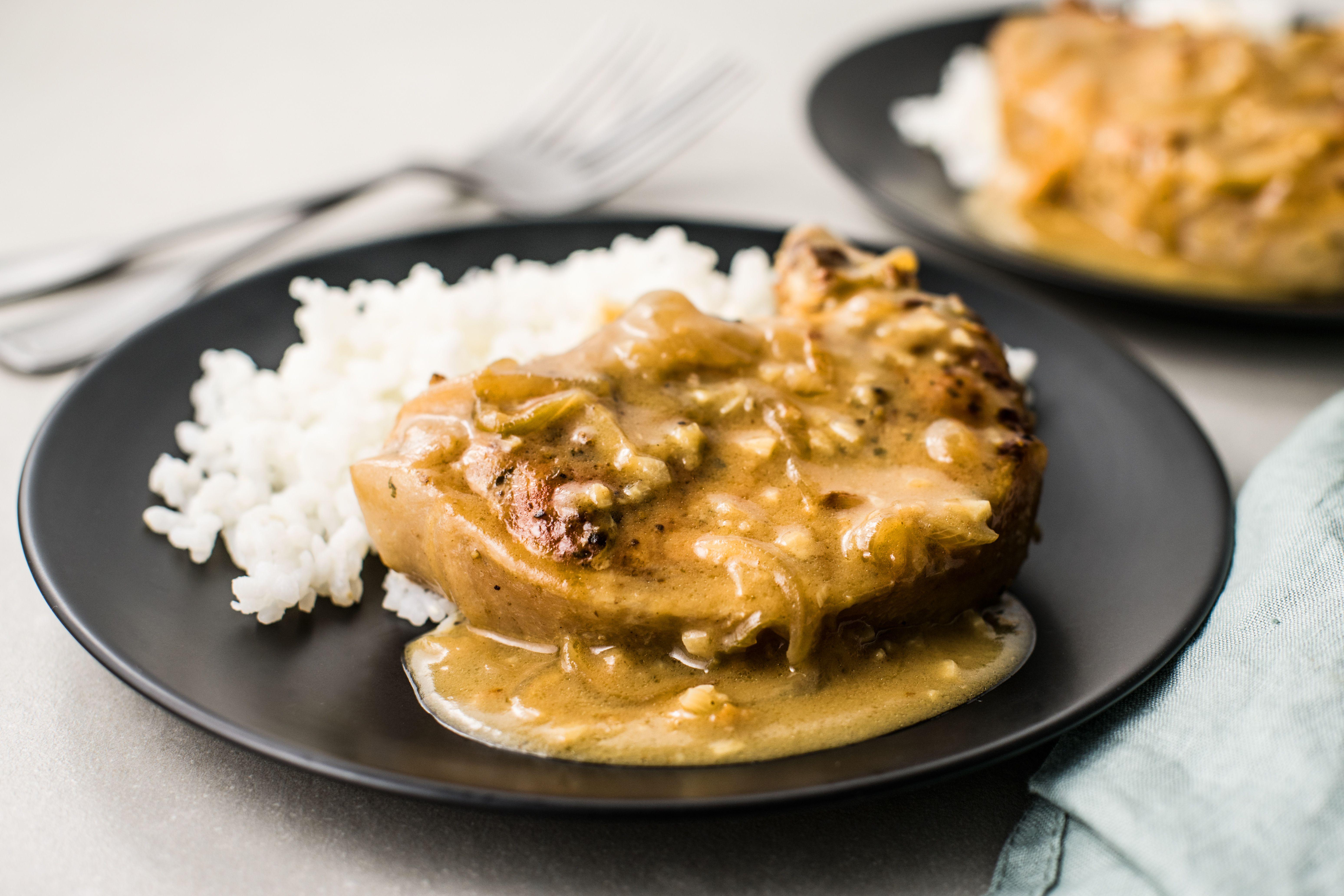 Serve over white rice