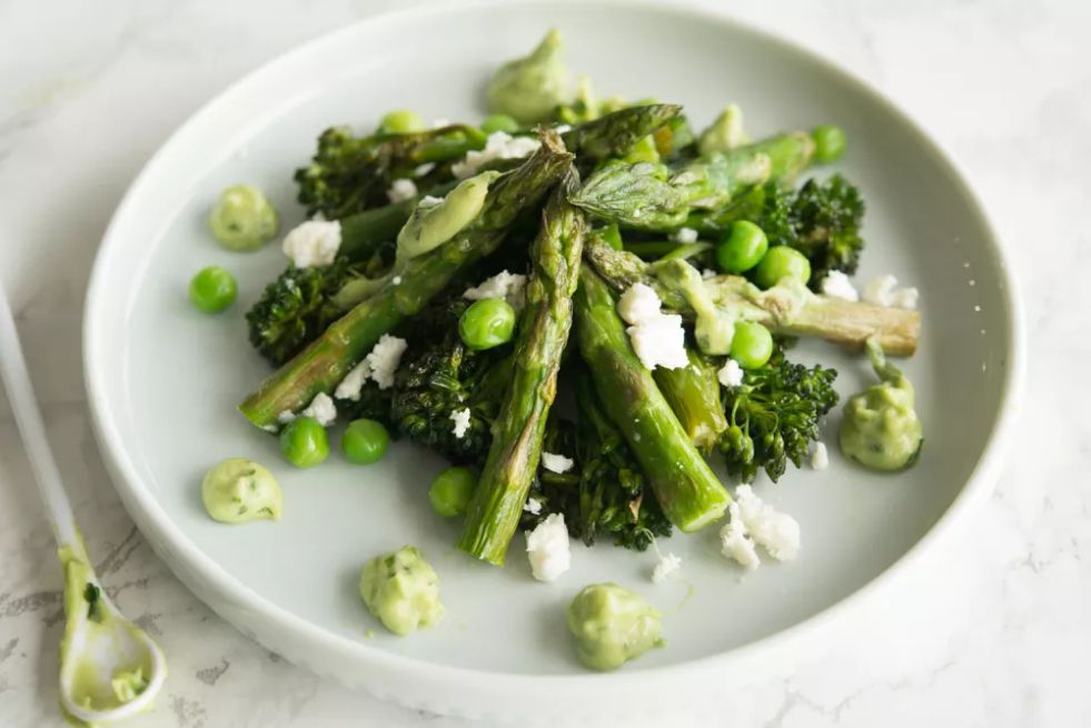 Asparagus and Broccolini Salad