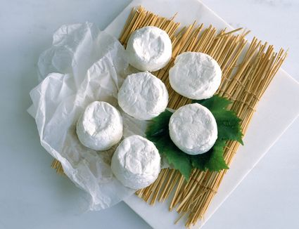 Chèvre: cheese made from goat's milk