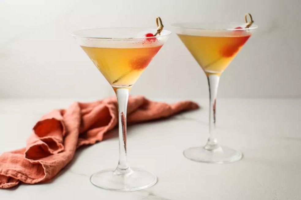 Thanksgiving Gin Martini Cocktail