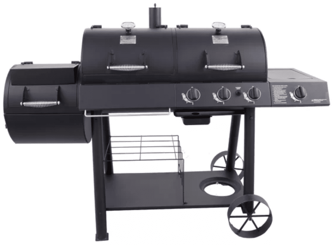 Best Dual Fuel Smoker And Grill Oklahoma Joe S Offset Propane