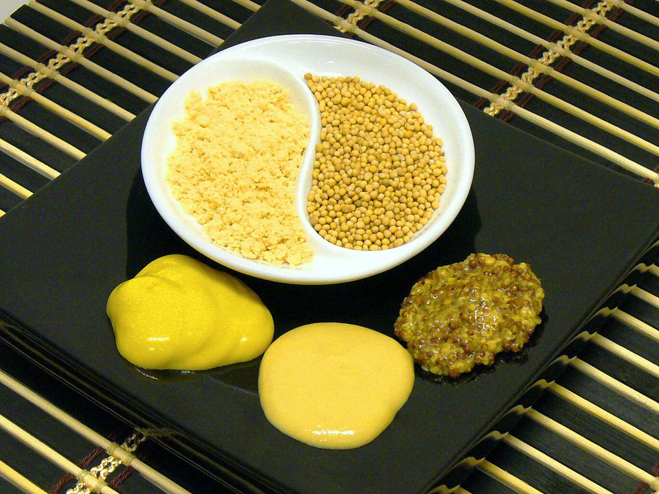 Mustard Seeds, Powder, and Ground Mustard