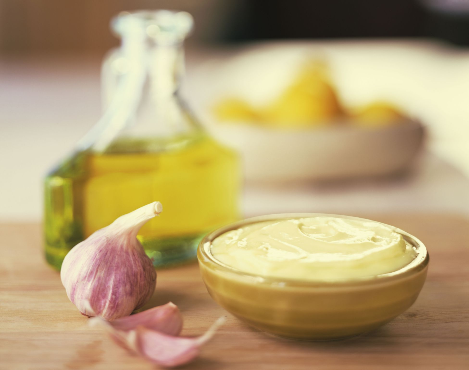 homemade garlic mayonnaise