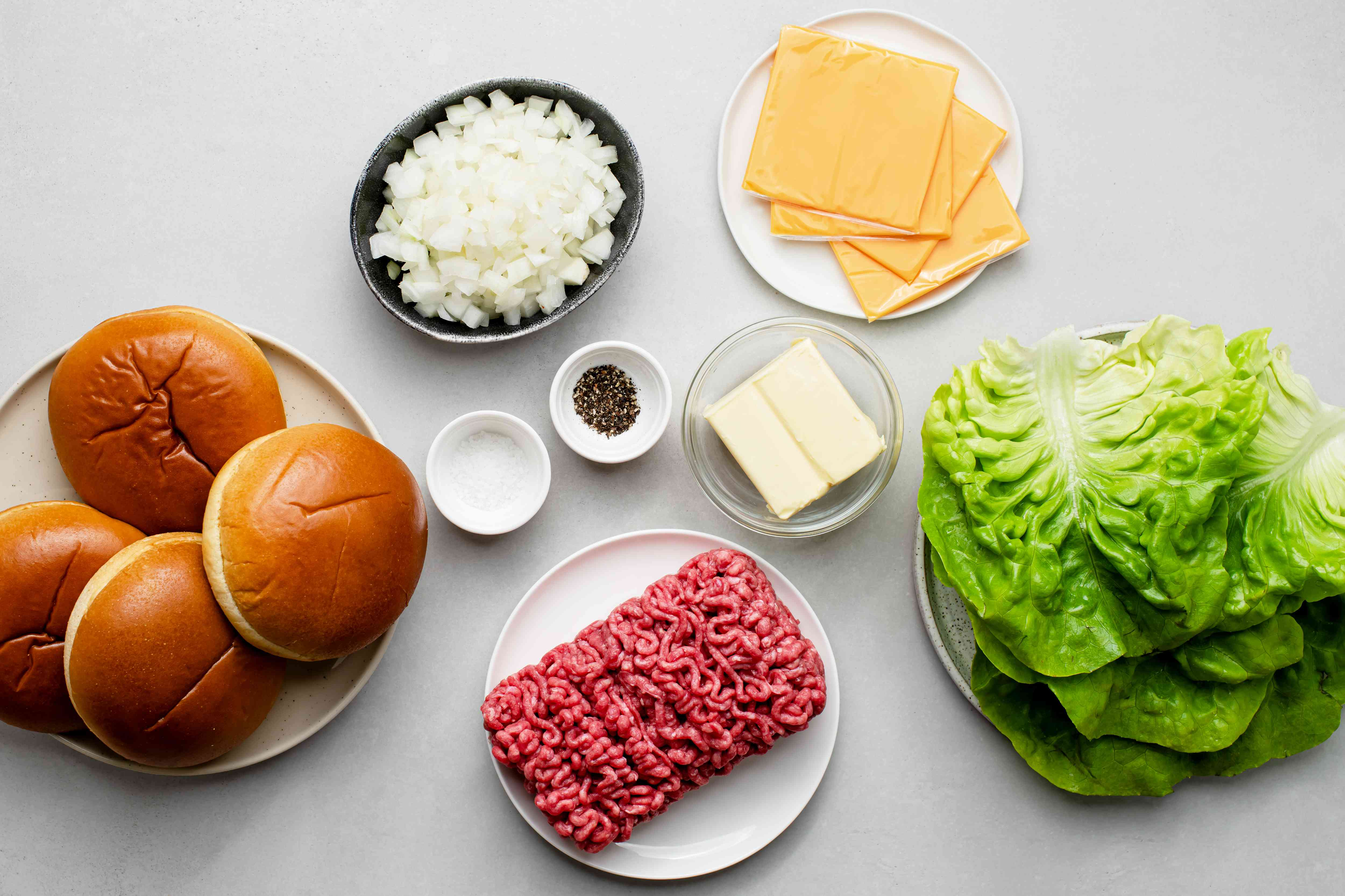 Butter Burgers ingredients