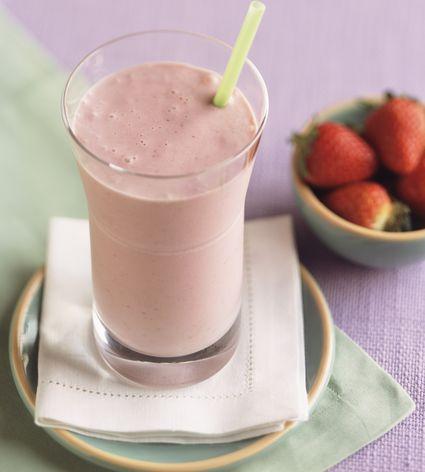Creamy Strawberry Smoothie