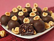 Hazelnut Nutella Truffles