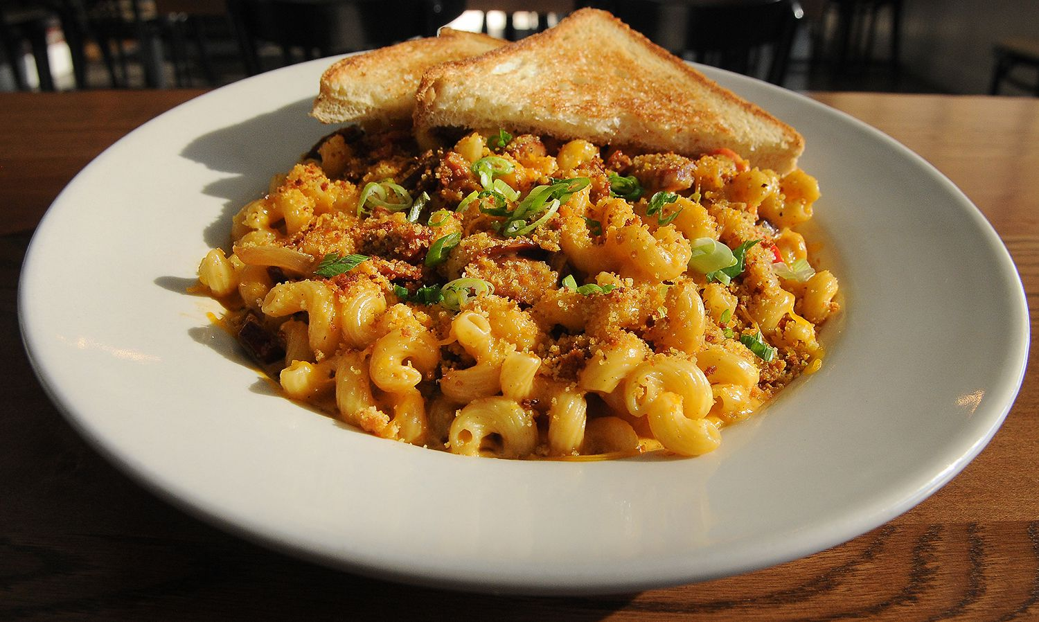 Macaroni and Cheese With Andouille Sausage