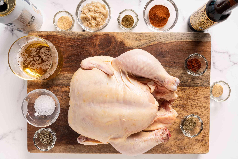 Oven Beer Can Chicken ingredients
