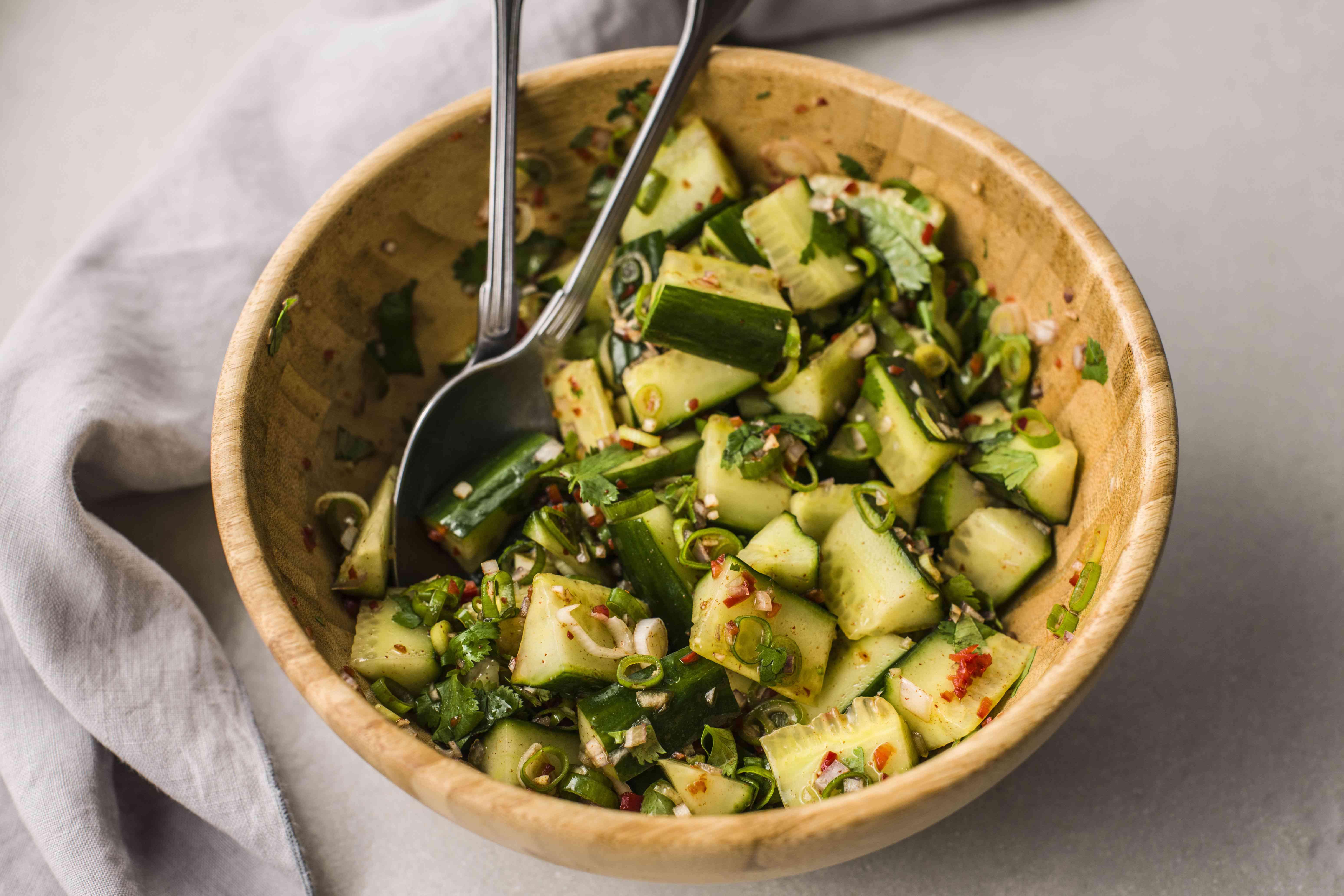 cucumber thai salad