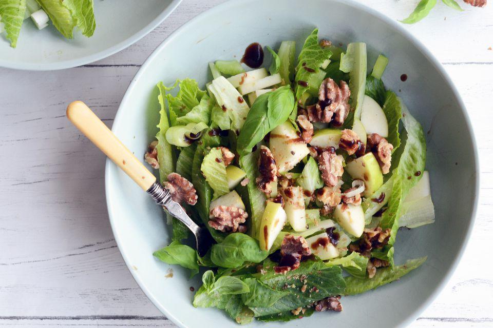 Apple and Walnut Salad Serve