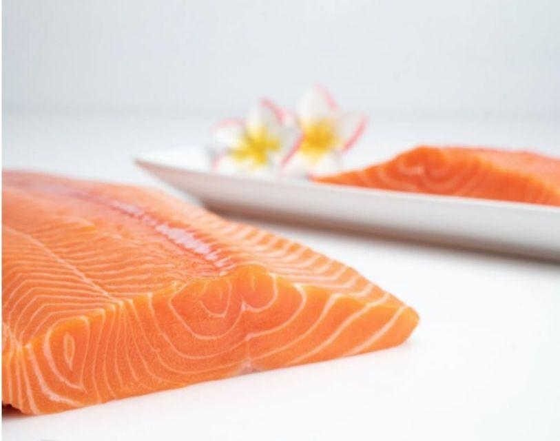 Honolulu Fish Company Ora King Salmon Sashimi Cut
