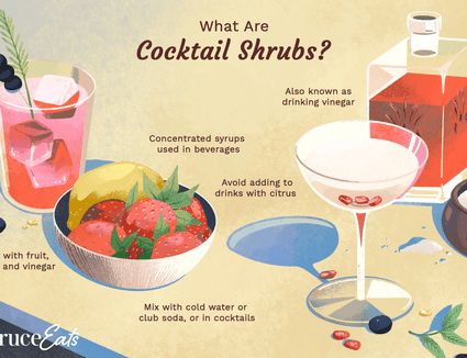 What are Cocktail Shrubs