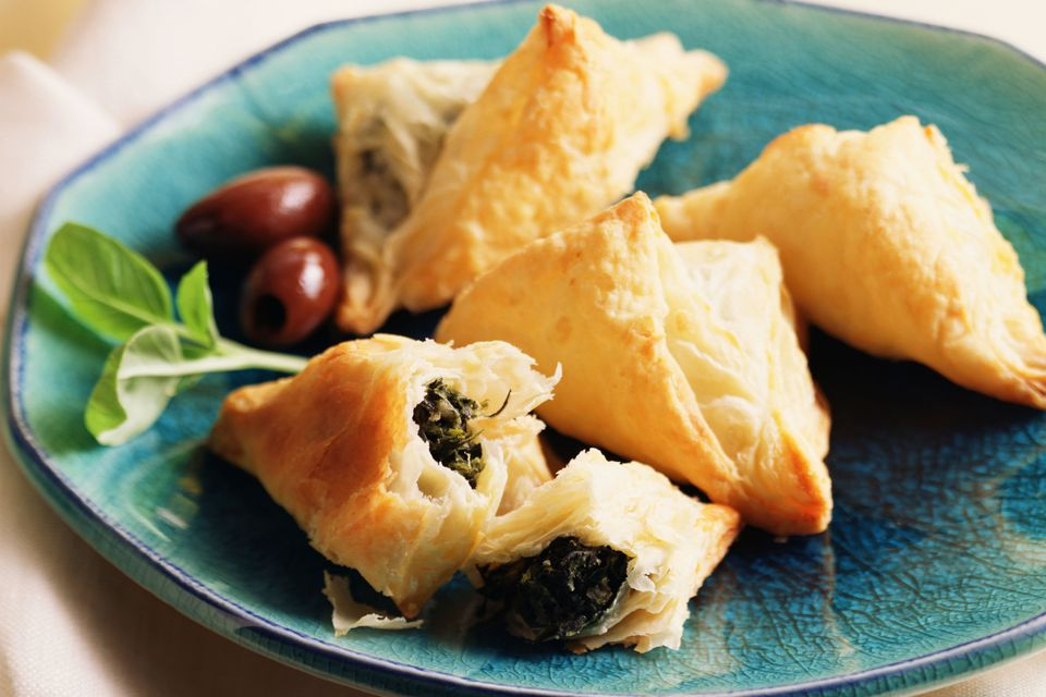 Spanakopita Bites: Spinach and Feta Cheese Appetizers