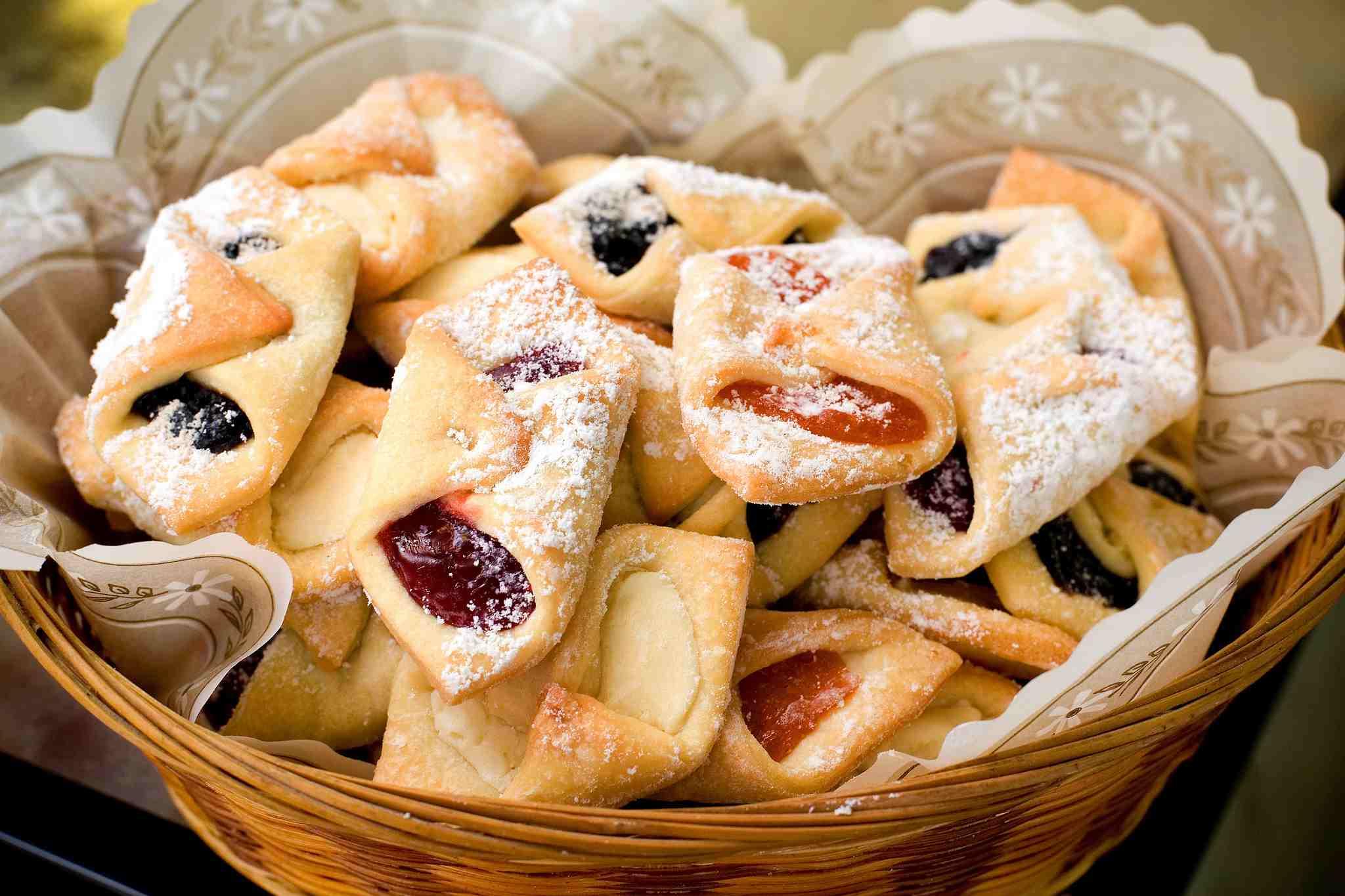kolaczki - Kolacky Polish Christmas Cookies