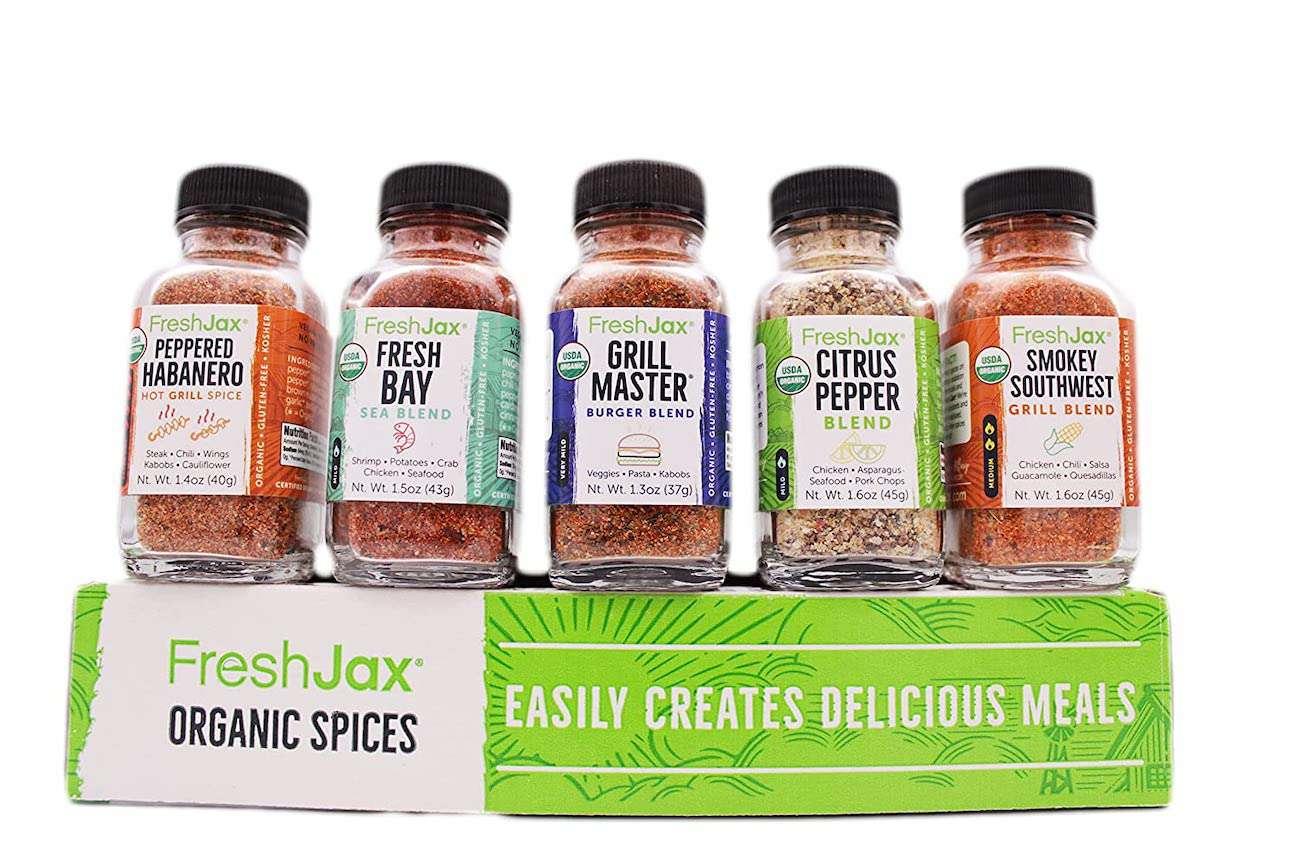 FreshJax Organic Grilling Spice Gift Set