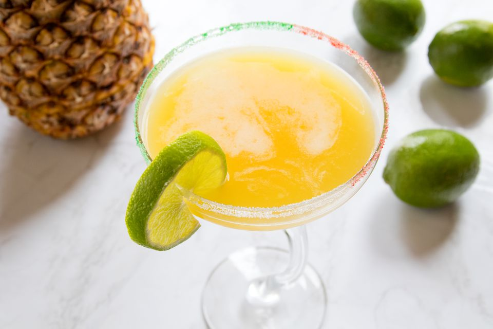 Cinco Herradura Pineapple Margarita With Tequila Herradura