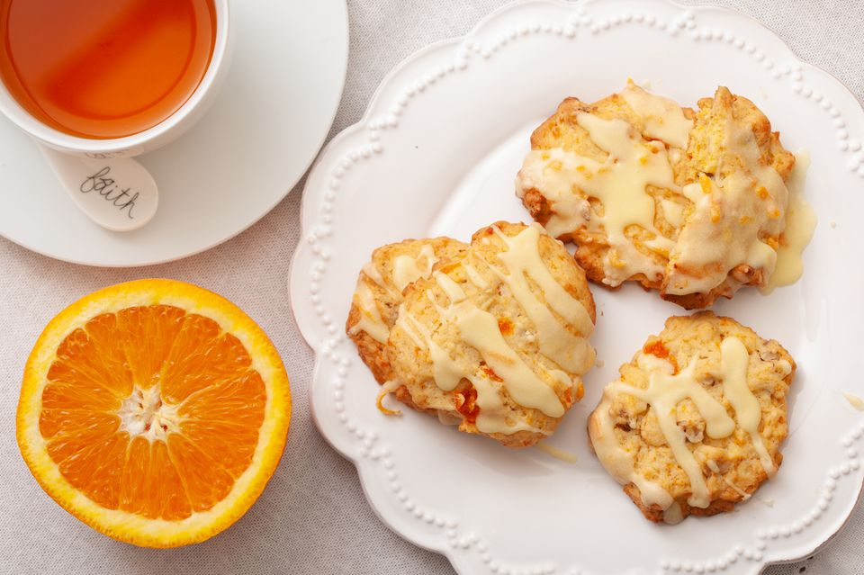 Carrot Cookies With Orange Icing Recipe