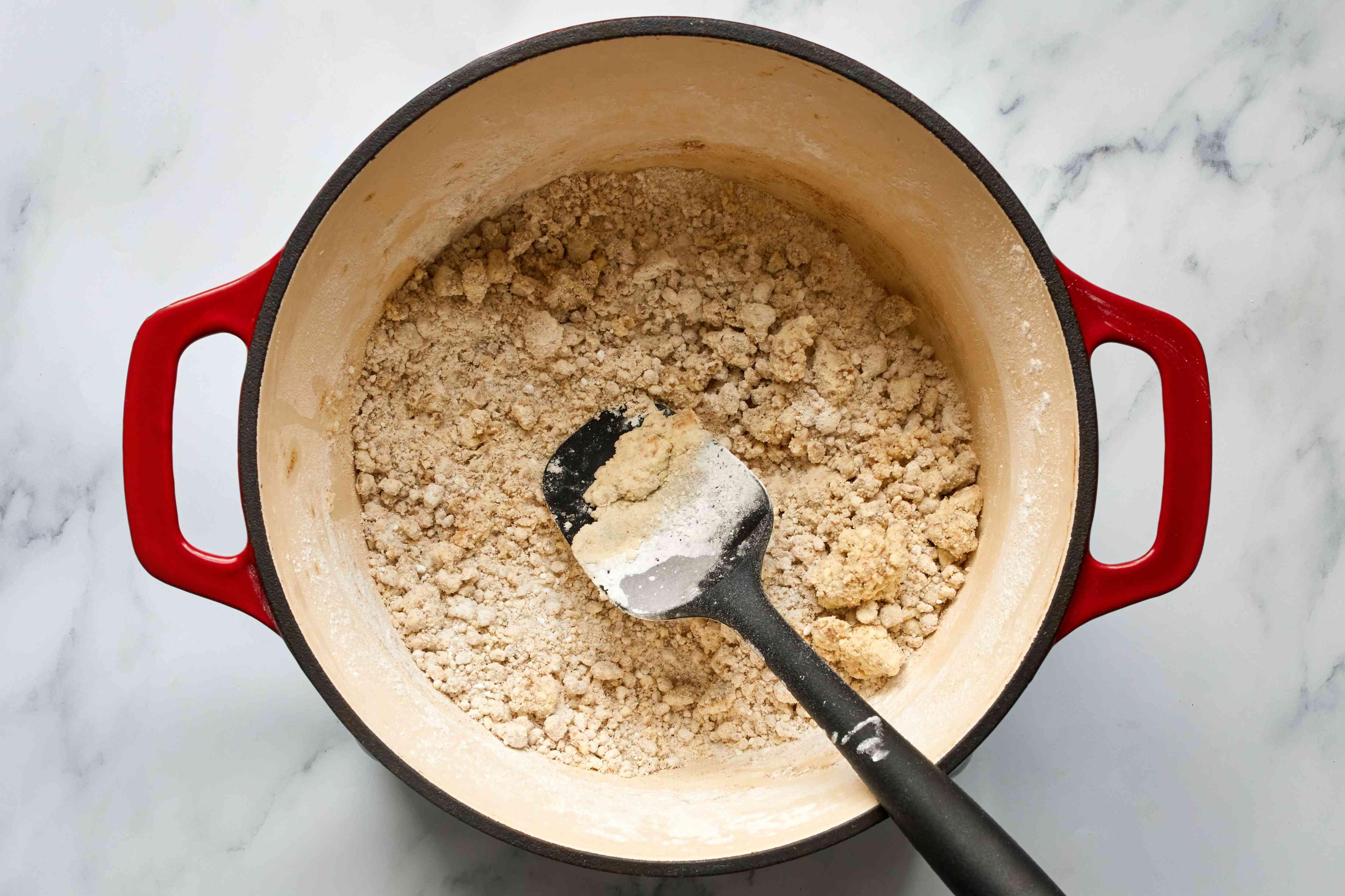 butter, brown sugar, confectioners' sugar and vanilla in a pot
