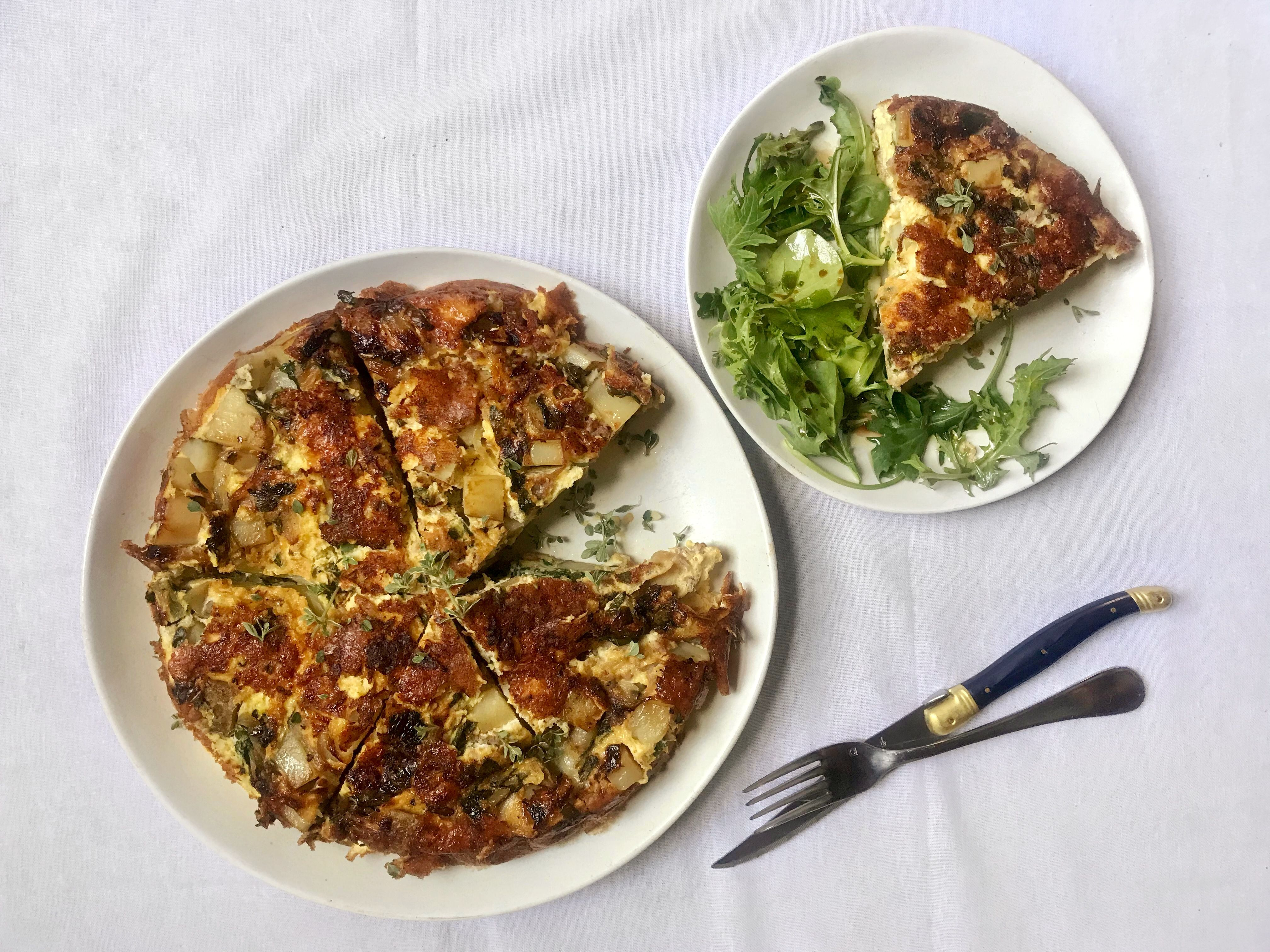 This easy frittata recipe may become your new favorite brunch dish