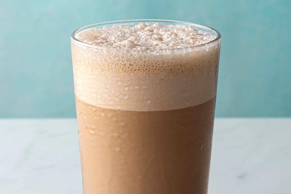 A glass of Delhi-style cold coffee