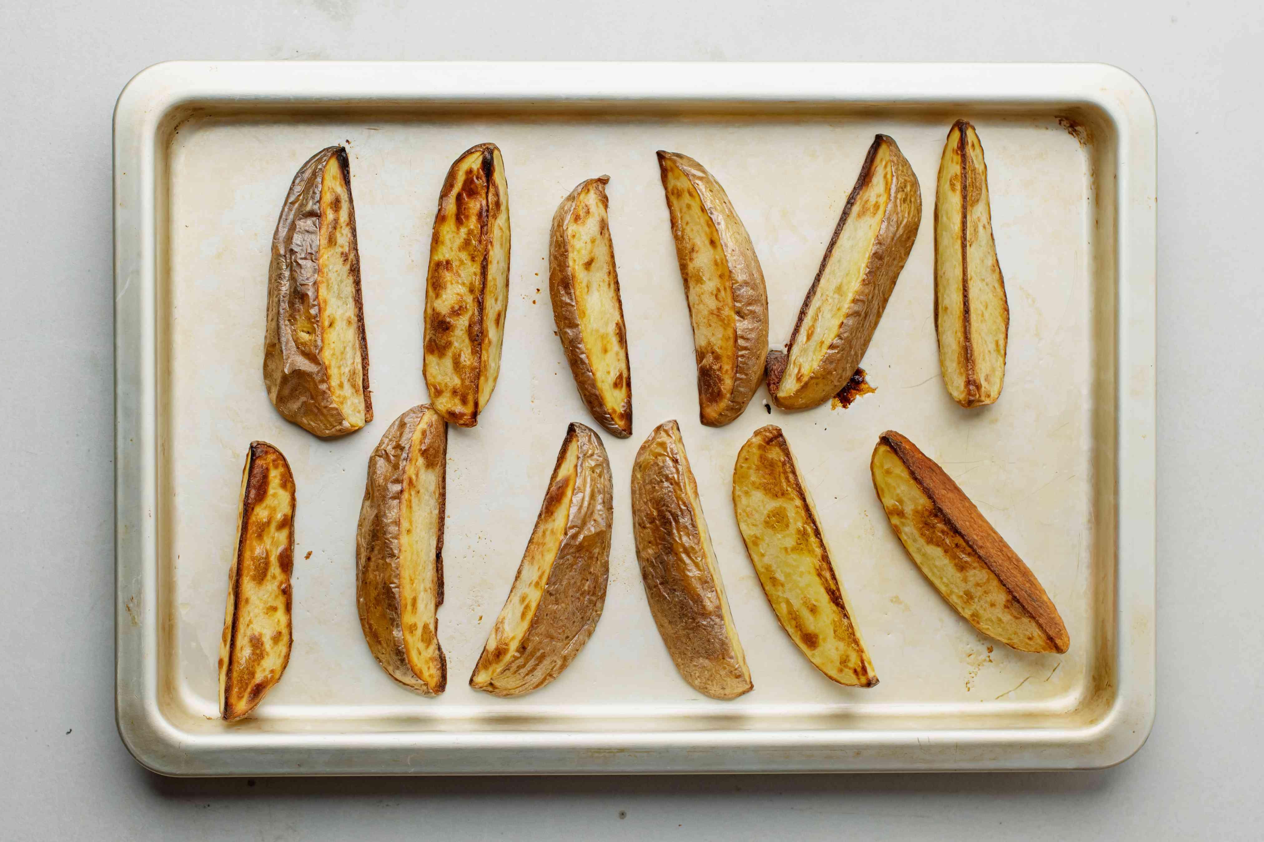 Bake potato wedges