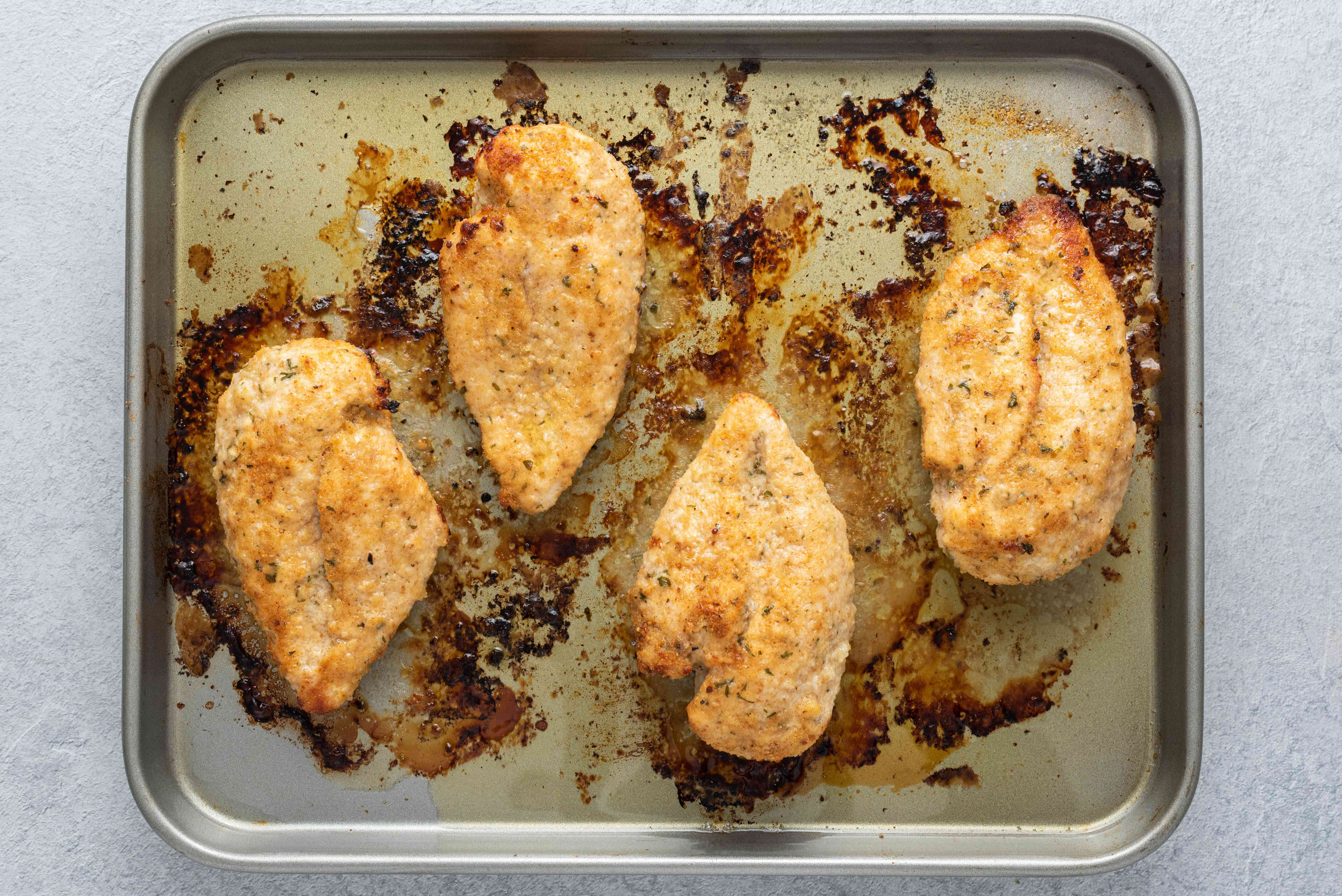 Easy Italian Style Baked Chicken Recipe
