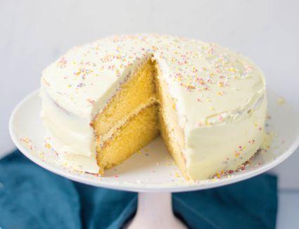 Dairy-free classic yellow cake