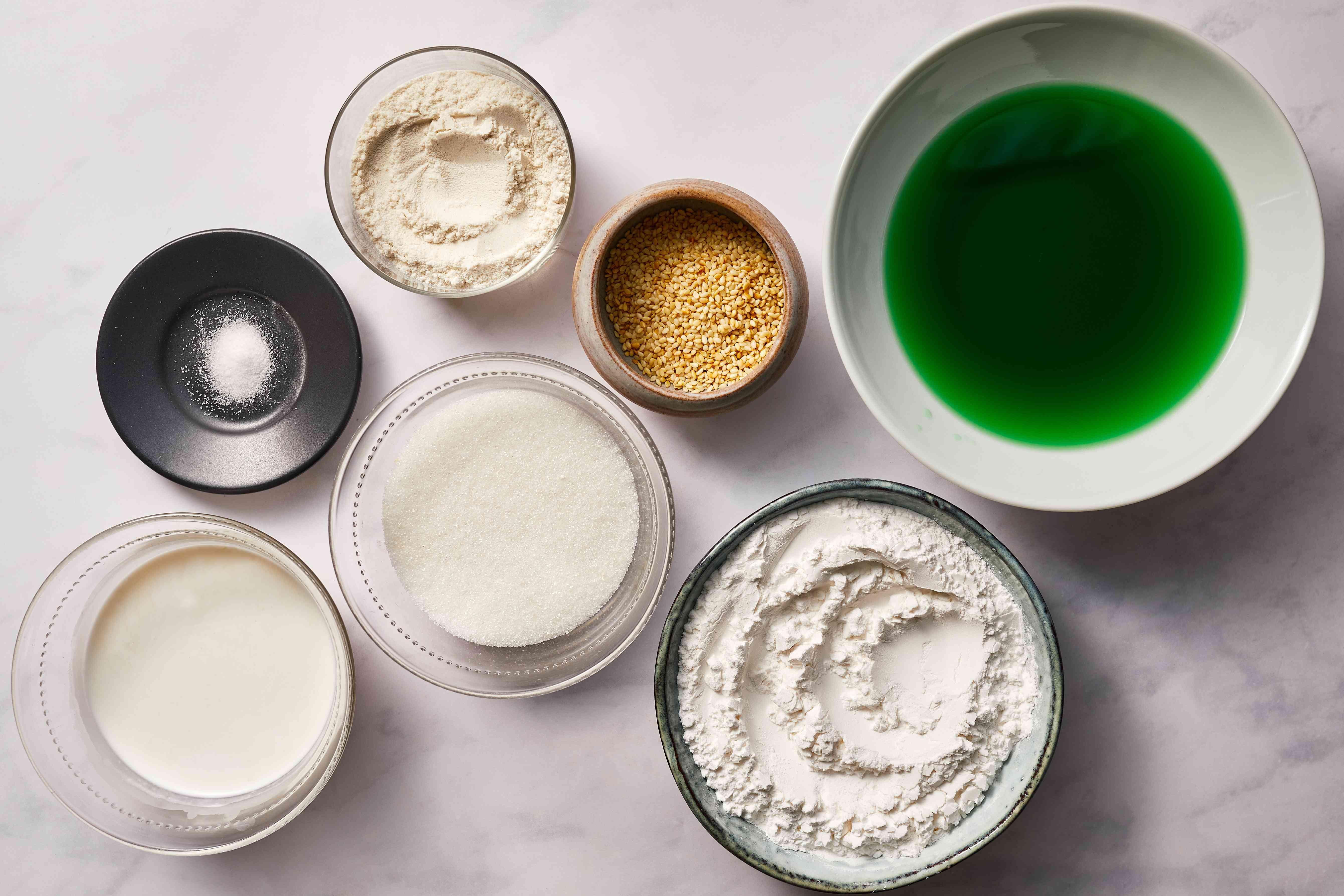 green layer ingredients